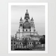 Santa Maria Della Salute basilica Art Print