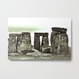 Stonehenge Wiltshire England Metal Print