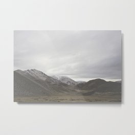 Lindis Pass - New Zealand Metal Print