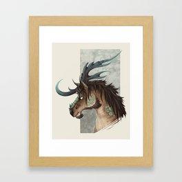 Kirin Bust Framed Art Print
