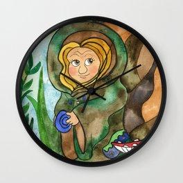 Earthling Wall Clock