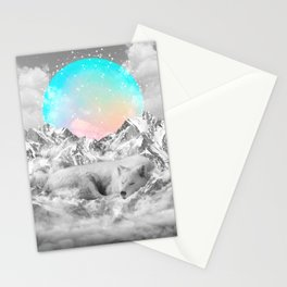 Put Your Thoughts To Sleep Stationery Cards