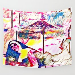 The Sin Eruption Wall Tapestry