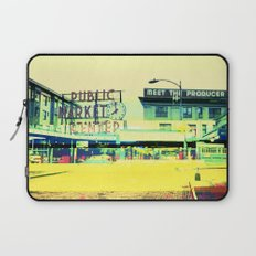 Pike Place Market | Project L0̷SS   Laptop Sleeve