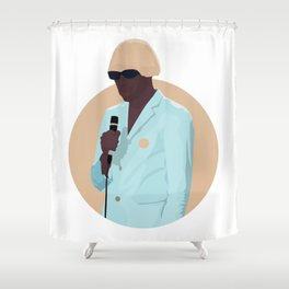 Igor Okonma Shower Curtain