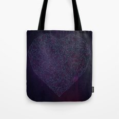Double Heart Weave Tote Bag