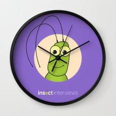 Kevin the Katydid Wall Clock