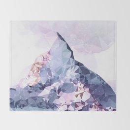The Crystal Peak Throw Blanket