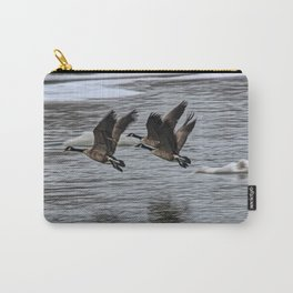Canada Geese Flying X1 Carry-All Pouch