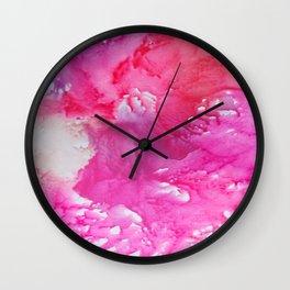 Cotton Candy Dreams Wall Clock