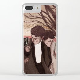 The detectives Clear iPhone Case