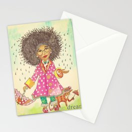 Rain Natural Stationery Cards