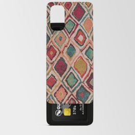 V38 EPIC ANTHROPOLOGIE MOROCCAN CARPET TEXTURE Android Card Case