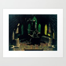 Benediction Art Print
