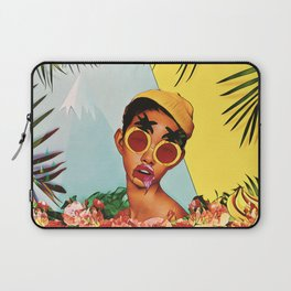 Girl in the jungle Laptop Sleeve