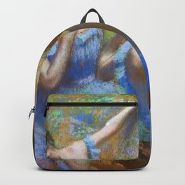 "Edgar Degas ""Dancers in blue"" Backpack"