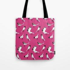 Bird Print - Shocking Pink Tote Bag