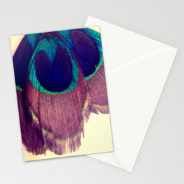 Peacocking Stationery Cards