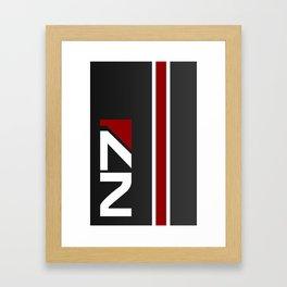 Mass Effect - N7 Framed Art Print