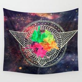 Space Mandala Wall Tapestry