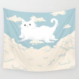 Cat Cloud Wall Tapestry