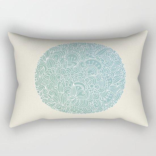Detailed circle Rectangular Pillow