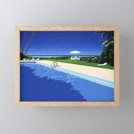 Hiroshi Nagai Vaporwave Shirt Poster Wallpaper Framed Mini Art Print