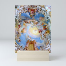 Wieskirche Heaven's Gate Mini Art Print