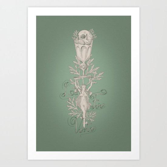 la Fee Verte  Art Print