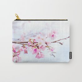Japanese cherry-blossom tree, 'Oh-kanzakura' Carry-All Pouch