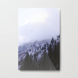 Icy Highway 2 Metal Print