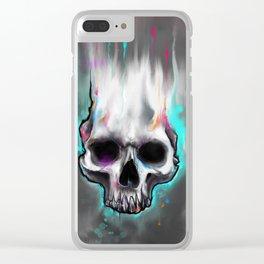 beautiful death Clear iPhone Case
