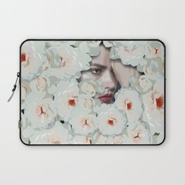 Flower woman Laptop Sleeve