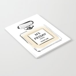 N5 FRIDAY PARIS PARFUM Notebook