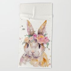 Little Bunny Beach Towel