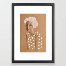 Neka Framed Art Print