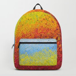 colored mountains Backpack
