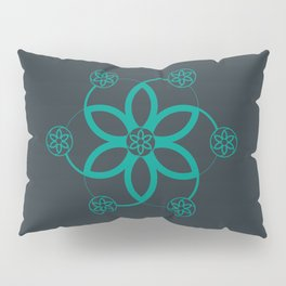 Evolution | Alien crop circle | Sacred geometry Pillow Sham