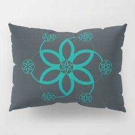 Evolution | Alien crop circle | Sacred geometry Pillow Sham