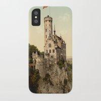 lichtenstein iPhone & iPod Cases featuring Lichtenstein Castle by BravuraMedia