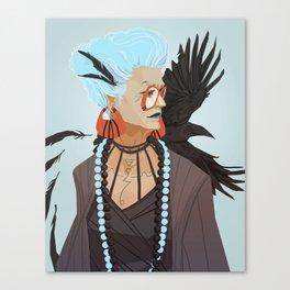 Raven Witch Canvas Print