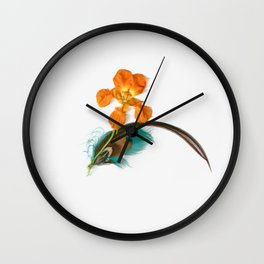 Feathery Dreams Wall Clock