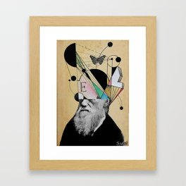 EVOLUTION FOR BEGINNERS Framed Art Print