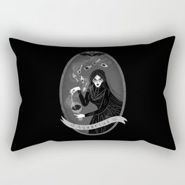 Aquarius Witchy Zodiac Rectangular Pillow