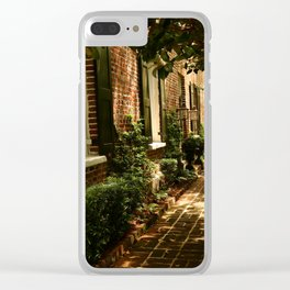 Beautiful Charleston Alley Clear iPhone Case