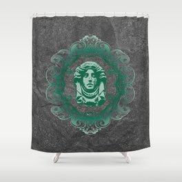 Haunted Mansion - In Regions Beyond Now Shower Curtain