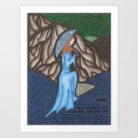 monet Art Prints featuring Monet by Gabriel Guyer