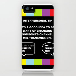 A TV Life Tip #1 iPhone Case