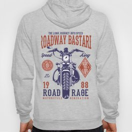 Roadway Bastard Road Rage Motorcycle Hoody