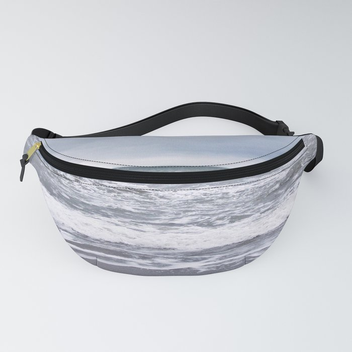 Cloudy Day on the Beach Fanny Pack